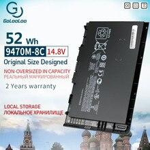 Golooloo 14.8v 52Wh BT04 BT04XL חדש מחשב נייד סוללה עבור HP EliteBook Folio 9470/9470m Ultrabook HSTNN DB3Z IB3Z HSTNN I10C BA06XL