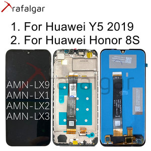Image 1 - Trafalgar Display For Huawei Y5 2019 LCD Display Honor 8S Touch Screen With Frame For Huawei Y5 2019 LCD Display AMN LX1 AMN LX9