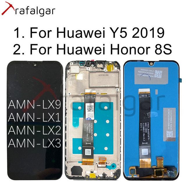 Trafalgar Display For Huawei Y5 2019 LCD Display Honor 8S Touch Screen With Frame For Huawei Y5 2019 LCD Display AMN LX1 AMN LX9
