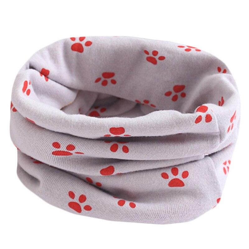 Весенне-осенне-зимний детский хлопковый шарф для От 0 до 10 лет, Детские шарфы с героями мультфильмов, модный теплый воротник - Цвет: 42
