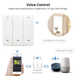 Image 2 - Zemismart WiFi Tuya Curtain Switch Wall Switch Work with Alexa Google Home Smart Life Timer Control