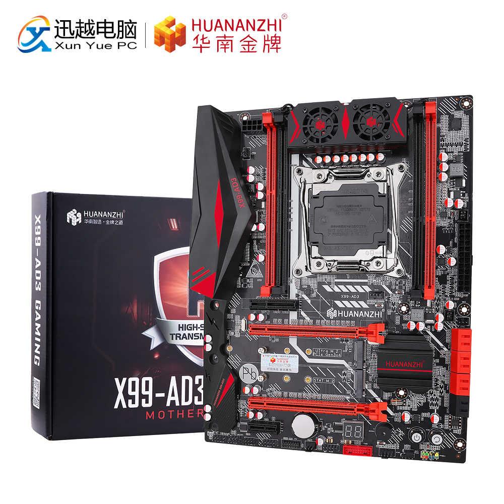 X99 Dual Server Computer Motherboard LGA2011-3 CPU DDR4 juego de memoria aoixbcuroc placa base para ordenador