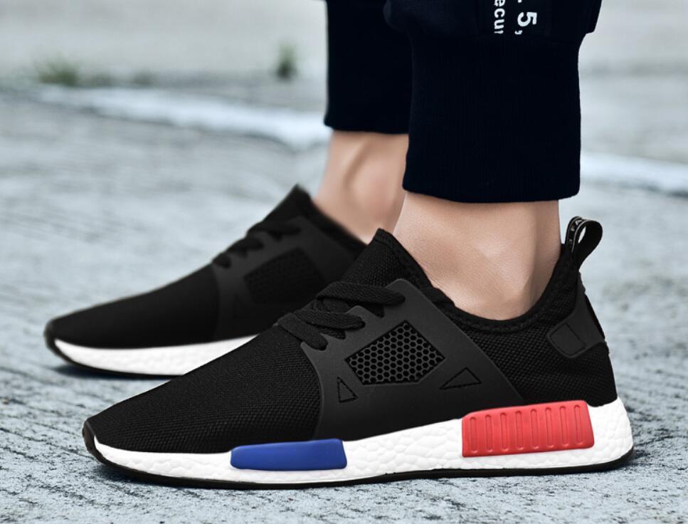 Men's Lightweight Breathable Mesh Sneakers cb5feb1b7314637725a2e7: Black|Gray|White