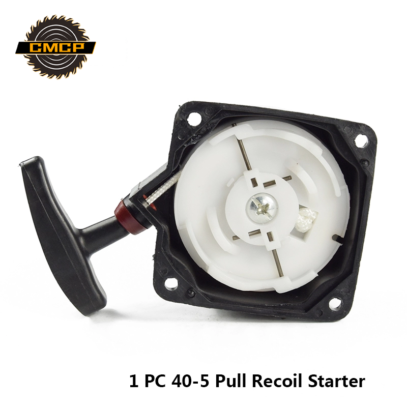 1pc Stainless Steel Pull Recoil Starter Fit Brush Cutter 40-5 Lawn Mower Spare Parts Grass Cutter Parts