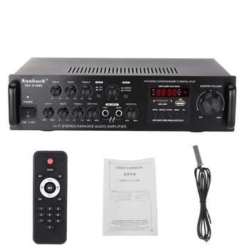 Усилитель мощности SUNBUCK TAV-6188E, Bluetooth, 5 каналов, AUX, USB, FM, SD 6