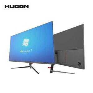 HUGON 27 Inch LCD/TFT 2560×1440 Monitor PC 60/75Hz HD Gaming Computer 2K Flat Panel Display DP/HDMI Interface