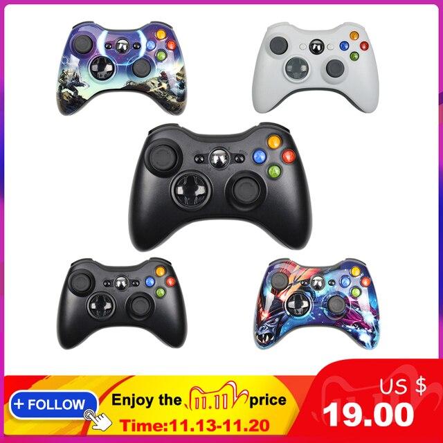 Gamepad עבור Xbox 360 Wireless/Wired Controller עבור XBOX 360 Controle Wireless ג ויסטיק עבור XBOX360 משחק בקר Joypad