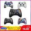 Gamepad Xbox 360 için kablosuz/kablolu denetleyici XBOX 360 Controle kablosuz oyun kolu için XBOX360 oyun denetleyicisi Joypad