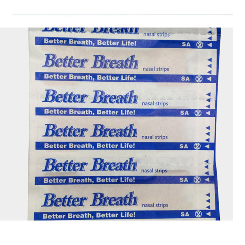 Image 2 - 200 pcs/lot Better breath Breathe Right Nasal Strips Anti Snoring Strips Sleep & Snoring Nasal Strips Sleep Better Health Care-in Sleep & Snoring from Beauty & Health