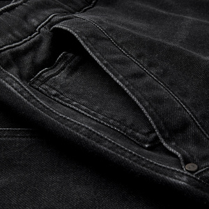 Image 5 - KUEGOU 2019 Autumn Cotton Black Skinny Jeans Men Streetwear Brand Slim Fit Denim Pants Male Biker Classic Stretch Trousers 2979