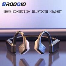 Luid Volume Hoofdtelefoon Met Microfoon Bluetooth 5.0 Pijnloos Waterdichte Sport Oortelefoon Draadloze Bluetooth Headset Oordopjes