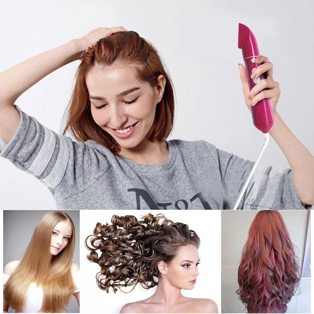 pente de ar quente secador de cabelo