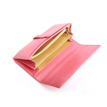 GENMEO Luxury Genuine Leather Wallet Women Fashion Clutch Bags with Letter Female Coin Purse Bolsa