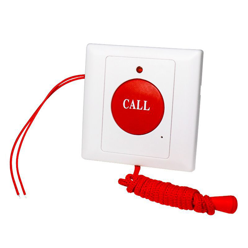 SOS Pull-Rope Emergency Button Wall Panel Fire Alarm Manual Button For Elderly/Patient Use At Home Hospital Nursing Home Hotel