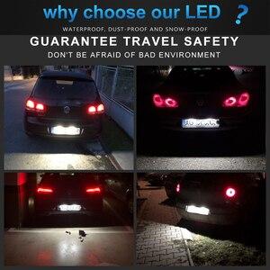 Image 5 - LED Number License Plate Light Lamp For VW (Passat B6 B7 B8 Only Alltrac) Tiguan 1 2 Touareg 2 Caddy 4 Sharan 2 Golf 6 7 Variant