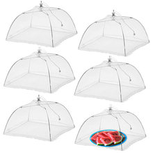 Большие 17x17 всплывающие сетчатые крышки для еды палатка зонт