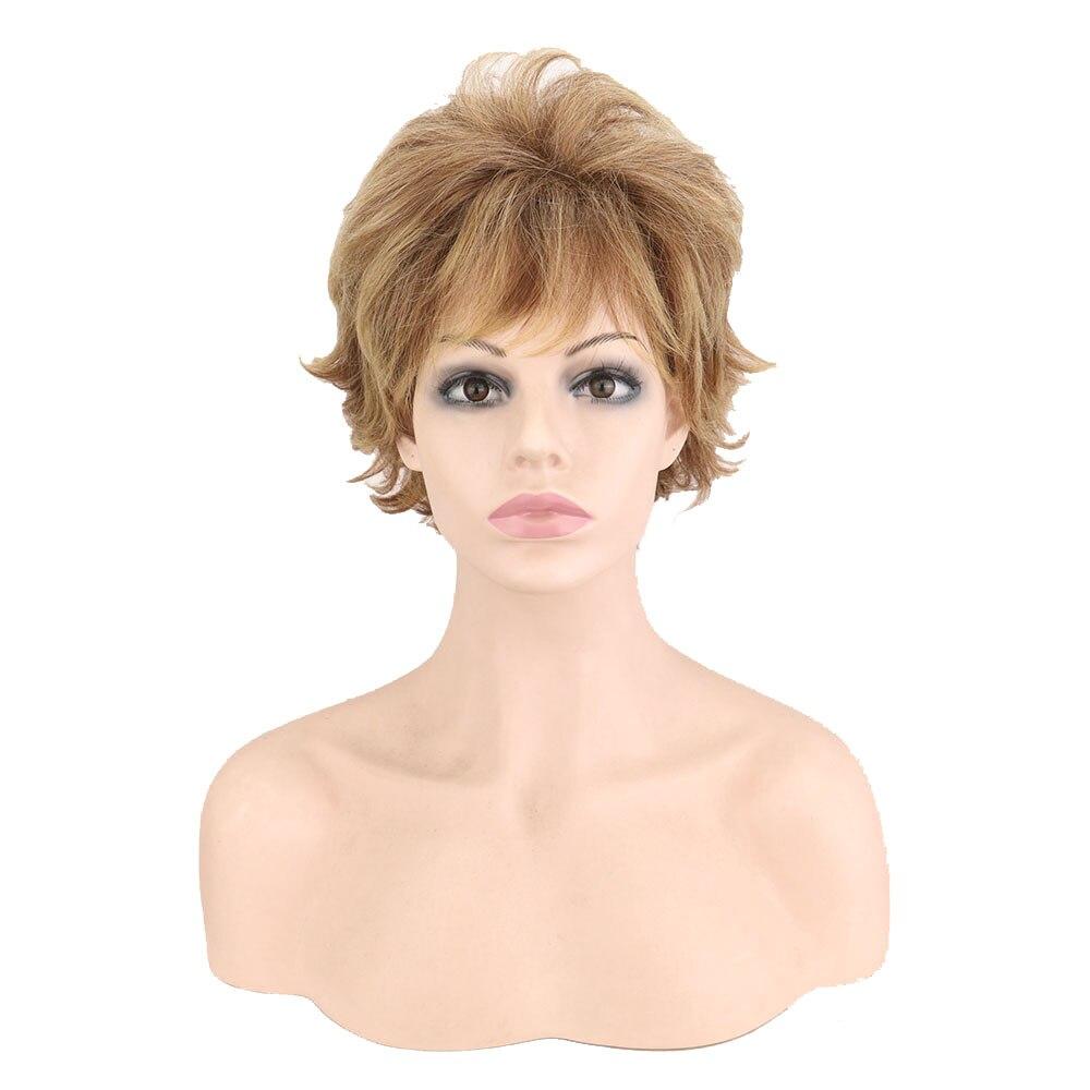 Peruca de cabelo sintético peruca de cabelo
