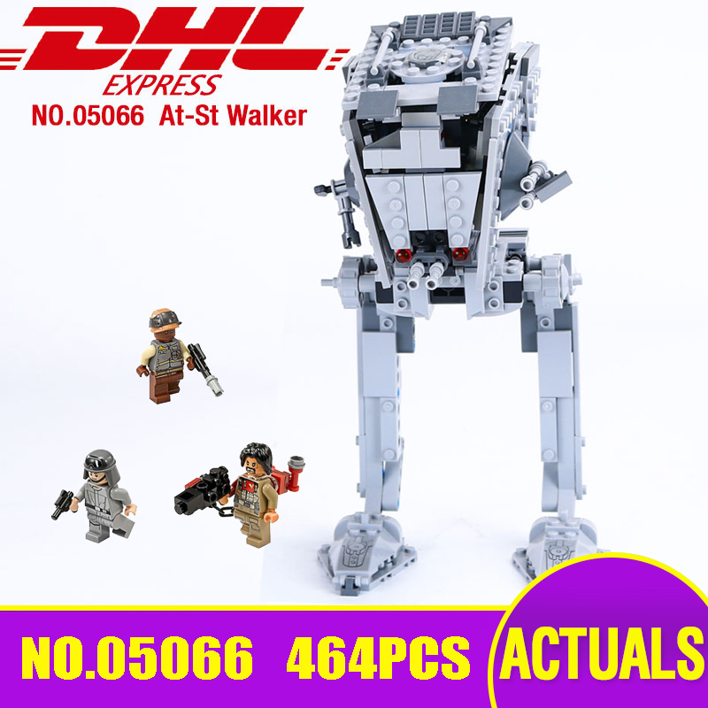 DHL 05066 Star Series The Wars 75153 Rogue One ATST Walker Model Educational Building Blocks Bricks Kids Christmas Toy as Gifts