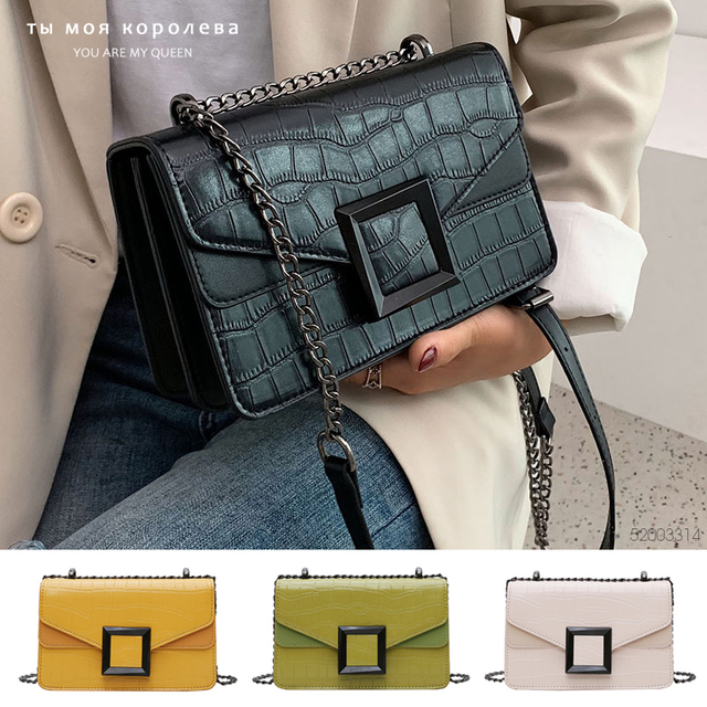 2020 Chain Small Shoulder Messenger Bag Female Luxury Chain Handbags and Purses
