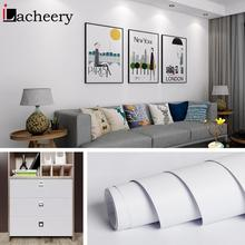 Waterproof Matte Self adhesive Wallpapers Removable Solid Color Vinyl Wall Stickers Home Decor Bedroom Furniture Contact Papers