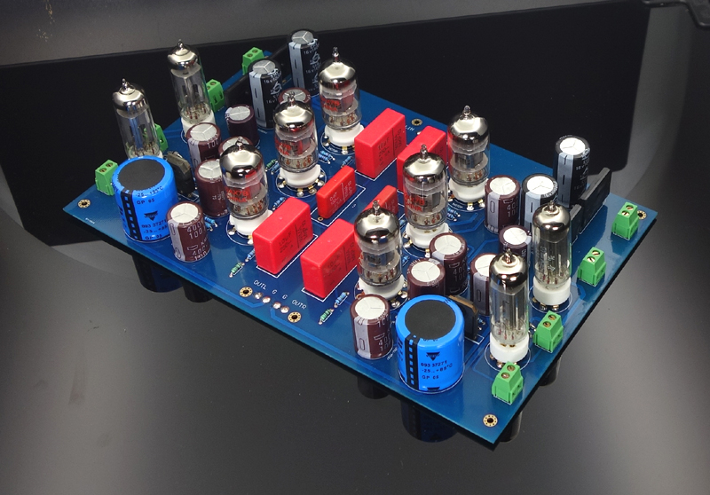 Imitation French High-burning Bile Preamp JP200 Tube Kit