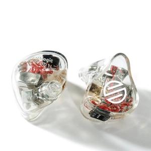 BGVP HIFI ArtMagic VG4 4 armaduras równoważenie personalizowane słuchawki przewodowa redukcja szumów hifi monitor słuchawki douszne 3.5mm mmcx