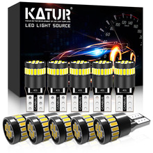 10pcs W5W led T10 LED Canbus Light Bulbs No Error led Car Interior Reading Parking Lights White 12V for BMW Audi Mercedes Benz