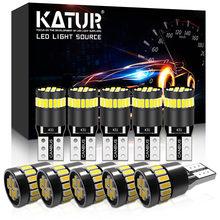 10x T10 W5W LED في Canbus لمبات 168 194 led التخليص مصابيح العلامات الجانبية لمرسيدس بنز W211 W221 W220 W163 W164 W203 C E SLK