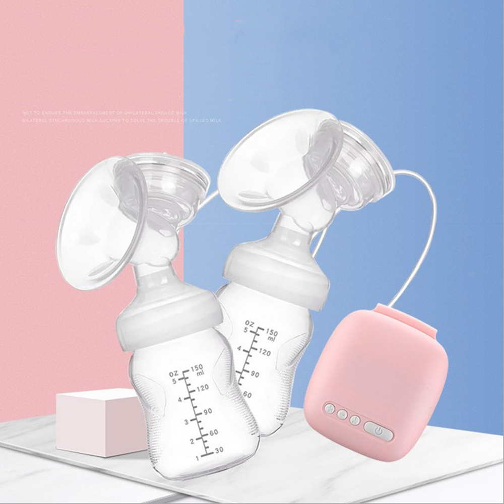 Automatic Free Electric Double Breast Pumps Manual Breast Pump Nipple Suction Breast Baby Feeding Pump Powerful Milk Sucker