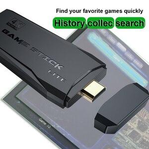 Image 4 - נתונים צפרדע Y3 לייט 10000 משחקים 4K משחק מקל טלוויזיה וידאו משחק קונסולת 2.4G אלחוטי בקר עבור PS1/SNES 9 אמולטור רטרו קונסולה
