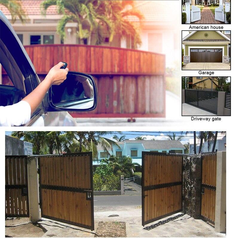 Elektrische Linear Antrieb 200kg-300kgs Motor Motor System Automatische Schaukel Tor Öffner mit Elektronische schloss kits Farbe optional