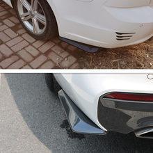 Pare-choc arrière universel en Fiber de carbone pour voiture, 2 pièces, pour JAC FRISON J4 J5 Saloon SEI 2 SEI 3 SEI 7