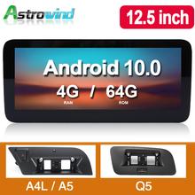 12 5 cal 8 rdzeń 4G Android 10 0 samochodowy System nawigacji GPS Radio odtwarzacz mediów Stereo dla audi A4 dla audi A5 Q5 S4 S5 2009-2015 tanie tanio Astrowind CN (pochodzenie) Double Din Rohs 10 25 inch 4 x 45 W 256G System operacyjny Android 10 0 Jpeg Dvd-r rw Dvd-ram