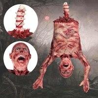 Ужас Хэллоуин украшение призрак игрушки жуткий страх привидение на подпорках вечерние орнамент ужас кровавый средства ухода за кожей виси...