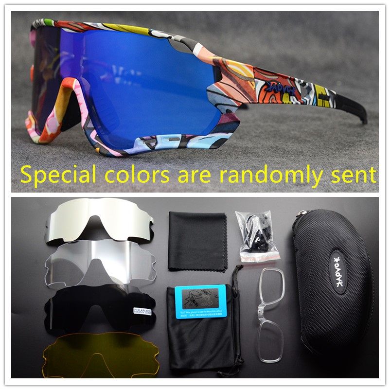 Brand Cycling Glasses Polarized TR90 5 Lens Outdoor Sport Glasses Mtb Road Bike Glasses Cycling Eyewear UV400 Cycling Sunglasses title=