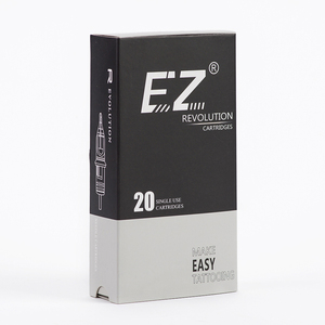 Image 4 - EZ Revolution igły do tatuażu wkłady okrągłe #08 0.25mm do maszyny kasetowej i uchwytów 20 sztuk/pudło