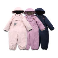 Kids rompers snow suits girls clothing baby boy clothing kids outwears christmas winter down coat