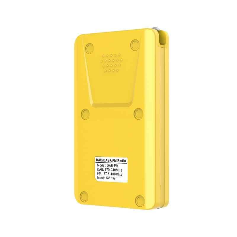 P9 Mini Pocket Dab Digitale Radio Fm Digitale Demodulator Draagbare MP3 Speler