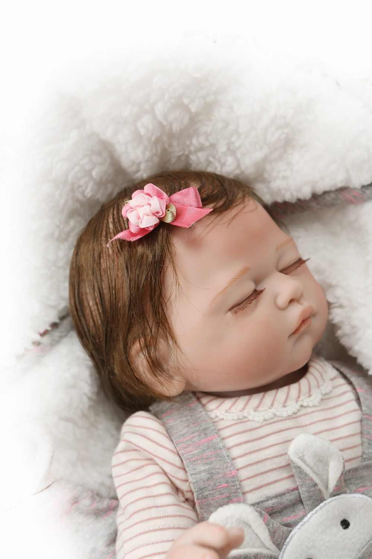 49 см силиконовые куклы Reborn Близнецы мальчик девочка игрушки Реалистичные Bebes красная кожа укоренившиеся реалистичные волосы водонепроницаемые игрушки для ванной для детей подарок