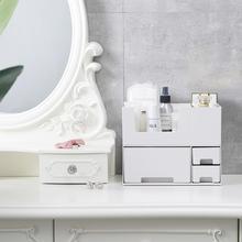 NEW SALE Makeup Organizer Box Jewelry Nail Polish Plastic Home Desktop Cosmetics