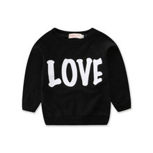 Fashion family matching mom son autumn and winter sweater cute LOVE letter printing parent-child top mother and daughter clothes(China)