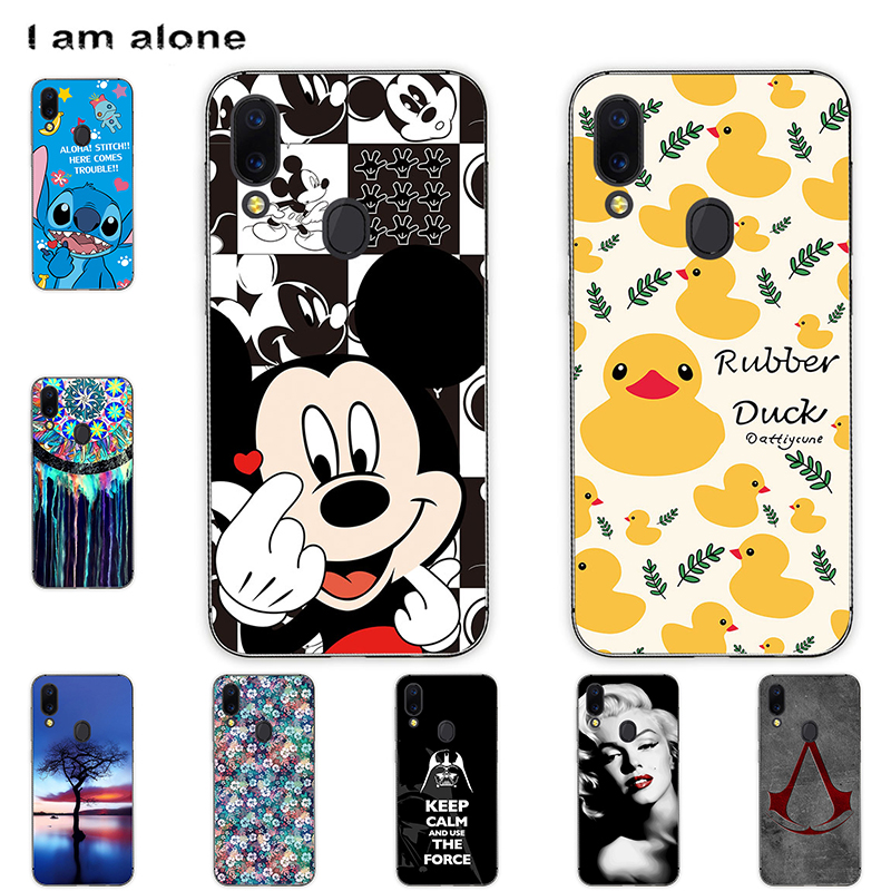 Phone Cases For Umidigi A3 2018 A3 Pro 2018 A3S A3X 2019 Soft TPU Bags Mobile Cartoon Printed Cover Free Shipping