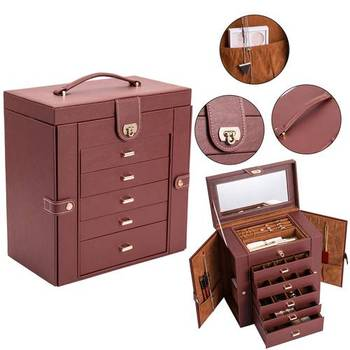 Jewelry Box Organizer Functional Huge