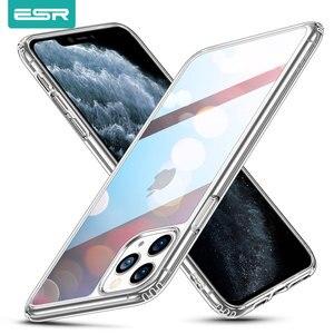 Image 1 - ESR מזג זכוכית מקרה עבור iPhone 11 11Pro מקסימום עמיד הלם יוקרה פגוש מקרה עבור iPhone 11 פרו מקס מראה כיסוי תיבות זכוכית