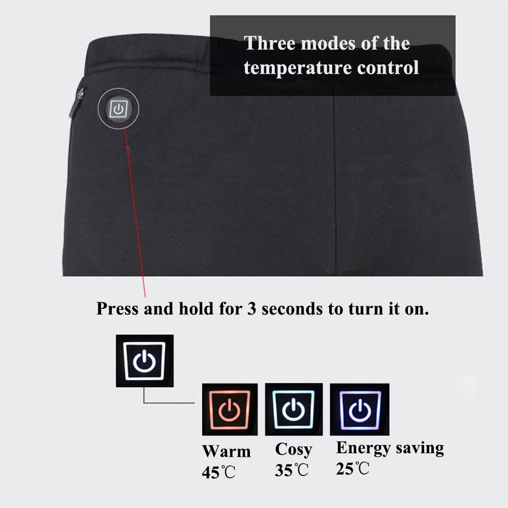 Pano aquecido fisioterapia elétrica calças de aquecimento