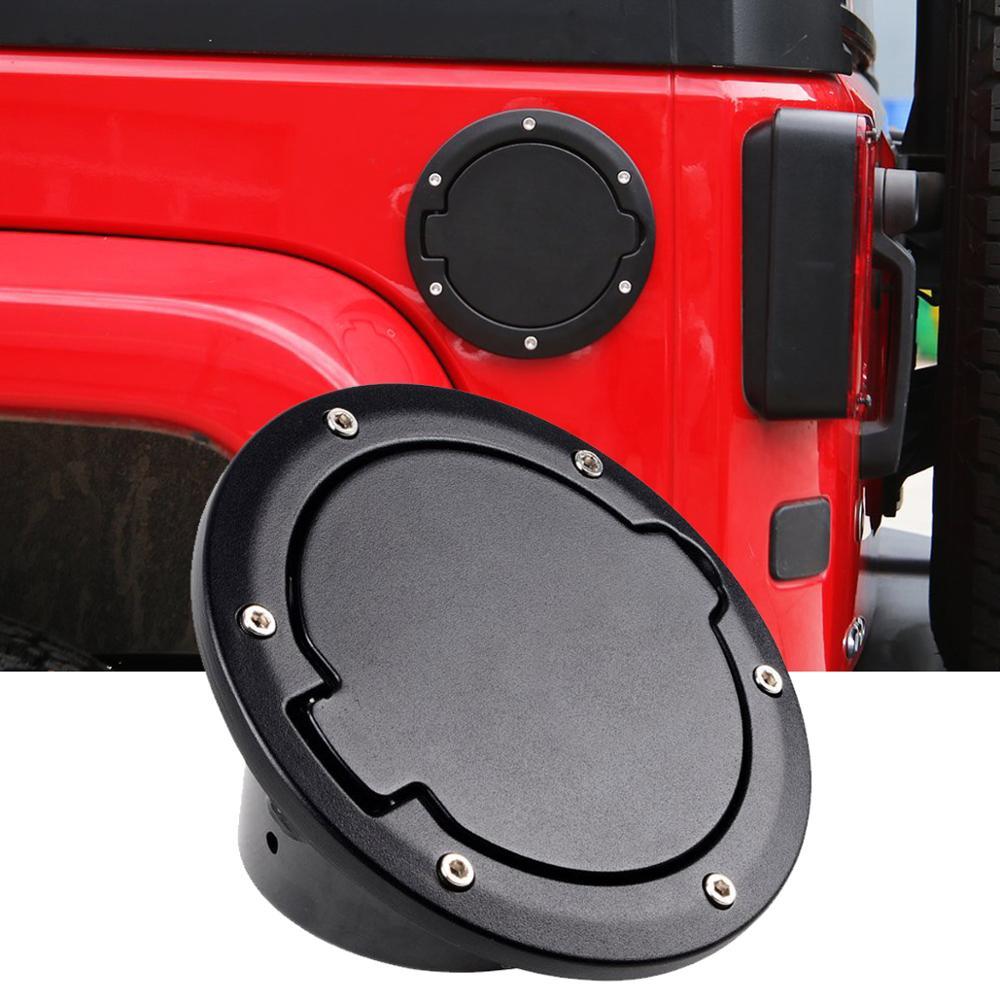 Автомобильный топливный наполнитель, крышка для двери, крышка для газового бака 07 17 Jeep Wrangler JK Unlimited Sedan Coupe 2 4, замена автомобильных аксессуаров|Крышки бака|   | АлиЭкспресс