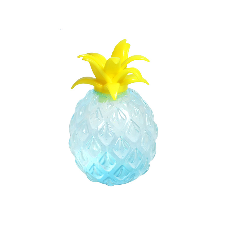 Vent-Toy Pineapple-Ball Spongy Squish Stress Anxiety Funny Children Bead for Stop Gold-Powder img4