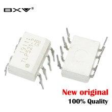 (10 peças) TLP521-2 P521-2 521-2 dupla optoacoplador transistor saída dip-8 original autêntico