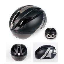 Bicycle Helmet Men EPS Integrally-molded Breathable Cycling Helmet  With Goggles Lens Men Women MTB Road Bike Helmet 330g