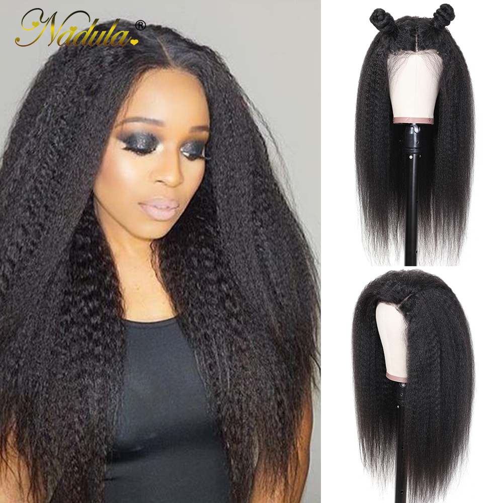 Nadula Hair 13x4/13x6 Lace Wig  Wigs With Lace Front    Hair Kinky Straight Wig With Baby Hair 2
